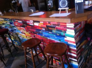 The book bar in the Utopiastadt