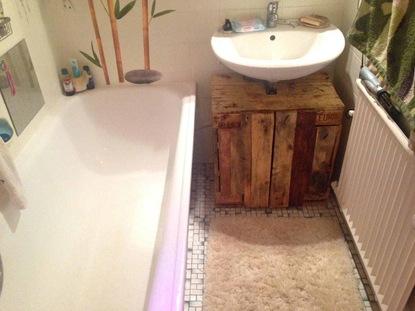 bathroom furniture made of pallets it works bathroom furniture pallets