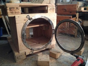 Porthole installed