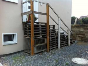 Pallet stairs, Kirchheim